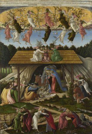 """The Mystical Nativity,"" by Sandro Botticelli, c. 1500-1501"