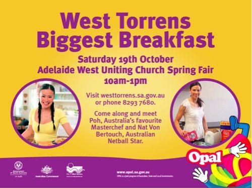 West Torrens Biggest Breakfast