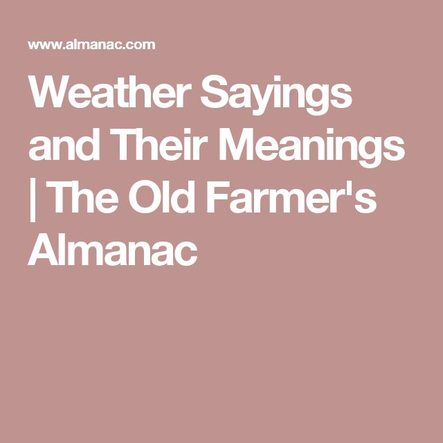 The 25+ Best Weather Sayings Ideas On Pinterest