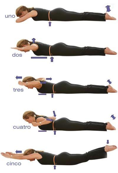 Ejercicios de Pilates para la espalda