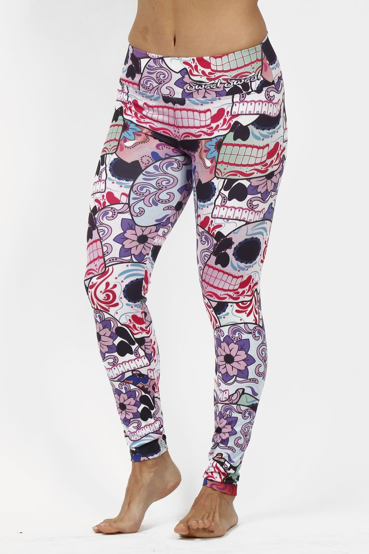 Leggins Calavera Pink Sweet Sweat