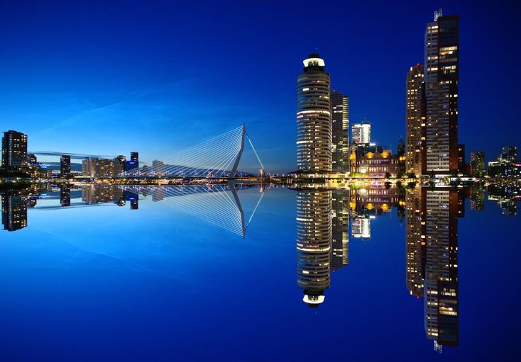 Rotterdam Skyline by Markus Christ on 500px