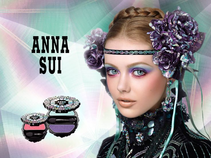 Anna Sui Makeup Ad - This One Was One Of My Favorites...actually Ended Up Buying The Shown ...