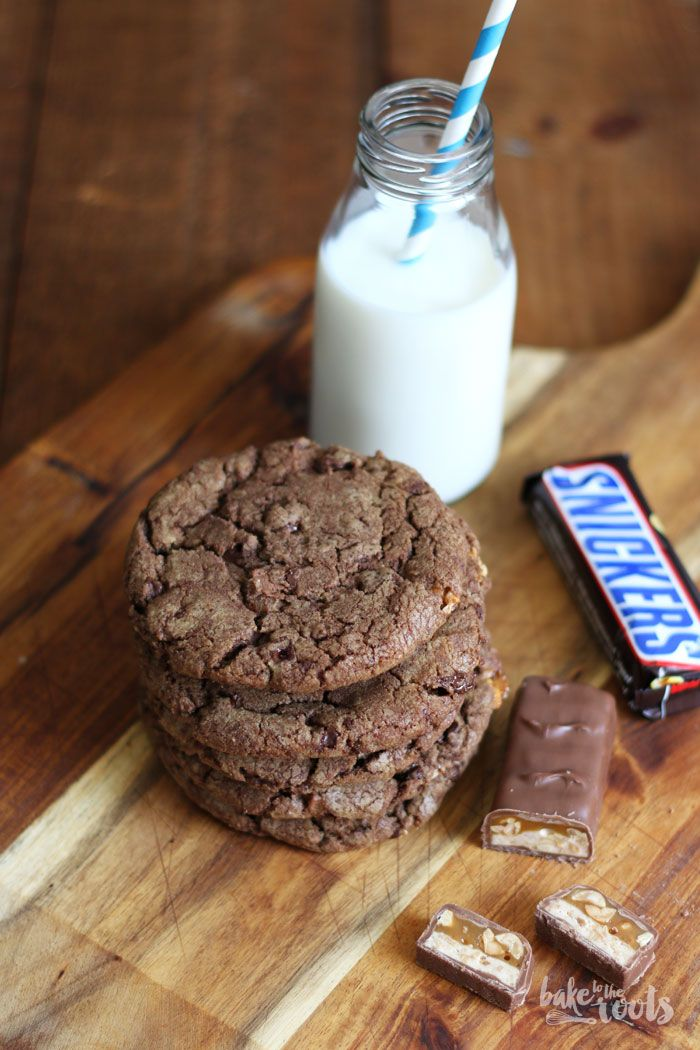 Snickers Cookies | Bake to the roots