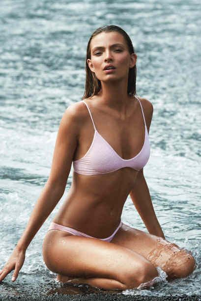 Acacia Swimwear: Na Pali top in pink/snake lining 2016 | Soleil Blue Click link for details. #MediciMode Follow me: http://www.Instagram.com/MediciMode & http://www.Facebook.com/MediciMode. Subscribe to The M List: http://www.MediciMode.com/subscribe