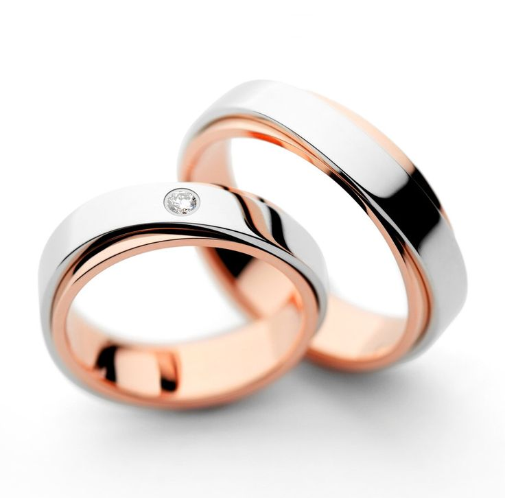 Nice Matching wedding bands Wedding bands His and hers wedding bands Couple wedding rings