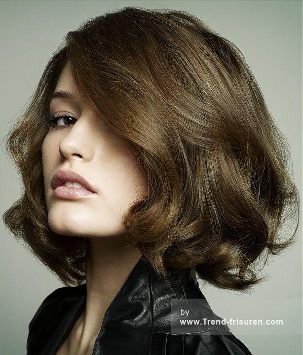 HEADMASTERS Mittel Braun weiblich Gerade Frauen Frisuren hairstyles