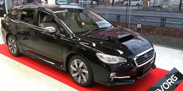 2014 Subaru LEVORG 2.0 GT-S sports tourer launches early in Japan