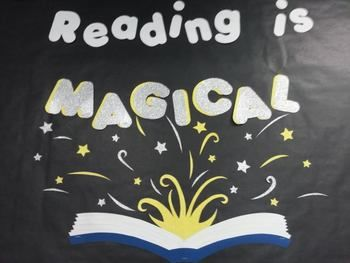 Reading-is-Magical-Bulletin-Board-Harry-Potter-1168488 Teaching ...                                                                                                                                                     More