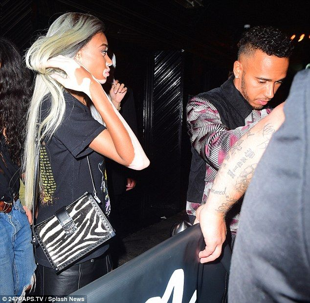 See photos as Lewis Hamilton parties with rumoured new girlfriend Winnie Harlow
