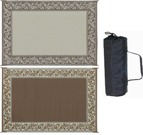 Ming's Mark RD7 Brown/Beige 6' x 9' Classical Reversible Mat by Ming 's Mark. $49.95. Reversible mats can be used for your RV patio, in the garden or on the beach. Perfect for placing under pets exercise pens and cages, picnic and various indoor and outdoor spaces.
