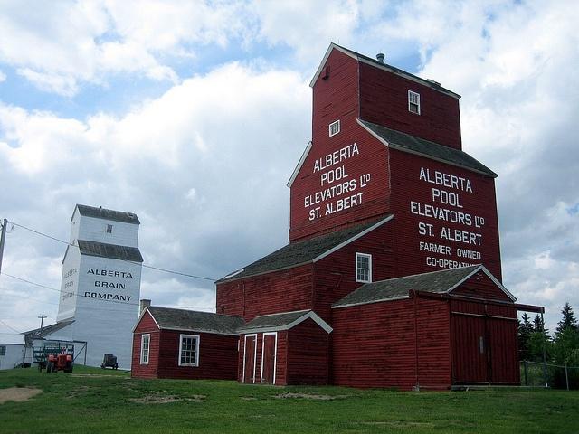 St. Albert Grain Elevator Park, St. Albert, Alberta, Canada