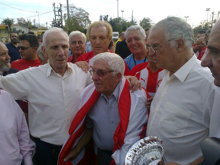 Από αριστερά. Κώστας Καραπατής - Θανάσης Μπέμπης - Σάββας Θεοδωρίδης.