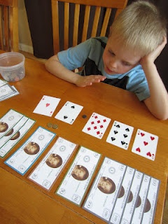 This is such a fun and fabulous way to teach your child about decimals and counting money!  Found at Relentlessly Fun, Deceptively Educational: Moving Decimal (A Money Exercise)... one of my favorite educational mom blogs!