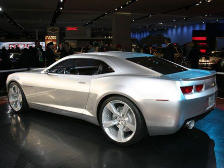 Taking the Camaro Concept Out For A Spin (Video)