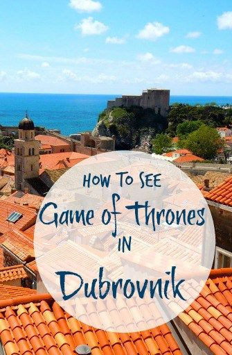 Game of Thrones Tour in Dubrovnik. See King's Landing!