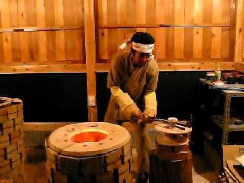 Raku kiln Tradition of japan 楽茶碗を焼く The teacup of the tea ceremony
