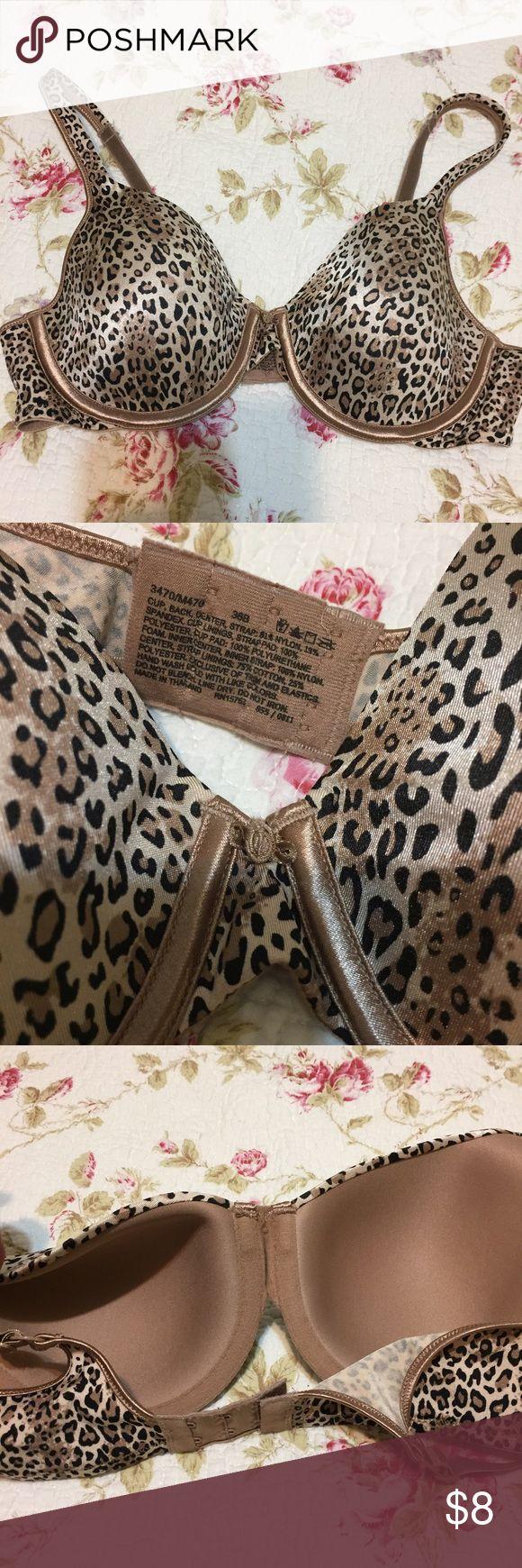 NWOT maiden form cheetah print 36b NWOT sexy soft cheetah bra 36b non smoking home 👠💋💅🏻 Maidenform Intimates & Sleepwear Bras