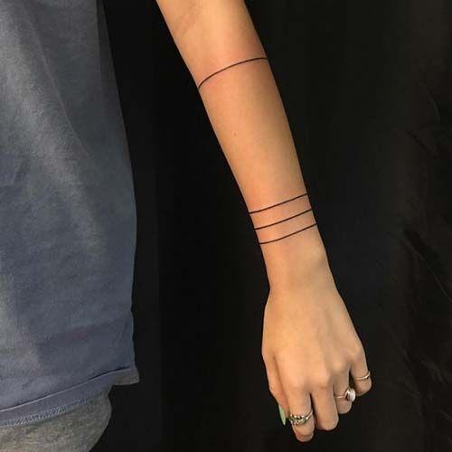 armband tattoo lines çizgi kol bandı dövmeleri