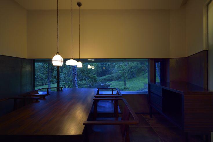 Larger Dining Room || Zaborin 坐忘林 | Architect: nA Nakayama Architects | Photographer: Ken Goshima