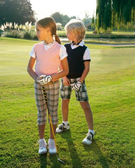 Il Gufo SS 2013 golf fashion for kids...2 cute!