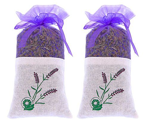 2 bags of 100% Pure Dried Lavender Buds for Closet and Drawers - Air Natural Freshener for Room and Car - Moth Deterrent - Lavender Aromatherapy #bags #Pure #Dried #Lavender #Buds #Closet #Drawers #Natural #Freshener #Room #Moth #Deterrent #Aromatherapy