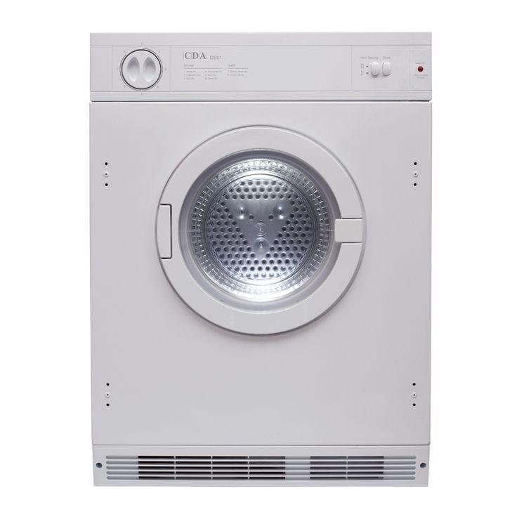 CDA, CI921 Integrated tumble dryer, 7KG