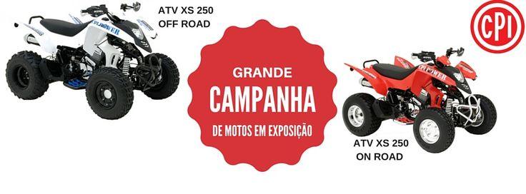 """CAMPANHA DE MOTOS DE EXPOSIÇÃO Preço """"CHAVE NA MÃO""""  #lusomotos #campanha #cpi #motos #atv #onroad #offroad"""