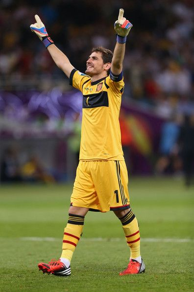 Iker Casillas Spain v Italy - UEFA EURO 2012 Final
