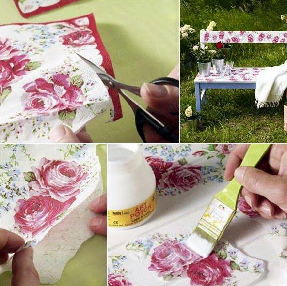 Τι είναι το Decoupage (Ντεκουπάζ); Φτιάξε τα δικά σου έργα τέχνης. | Φτιάξτο μόνος σου - Κατασκευές DIY - Do it yourself