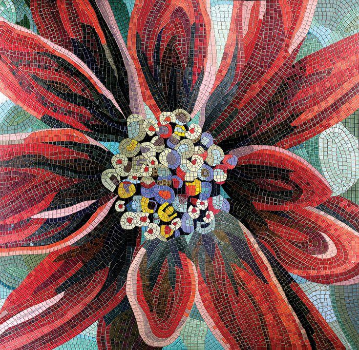 Mosaic Flowers - Ardea http://www.ardea-arte.pl/kolekcje/art-mosaicart-mosaic/flowers/