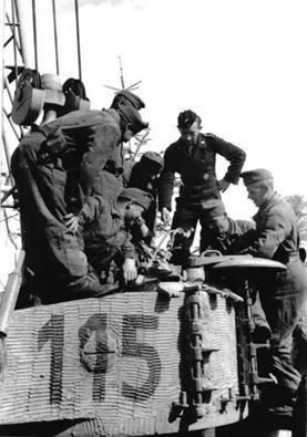 Hungarian Tiger tank number 115 | WW2 tanks | Flickr