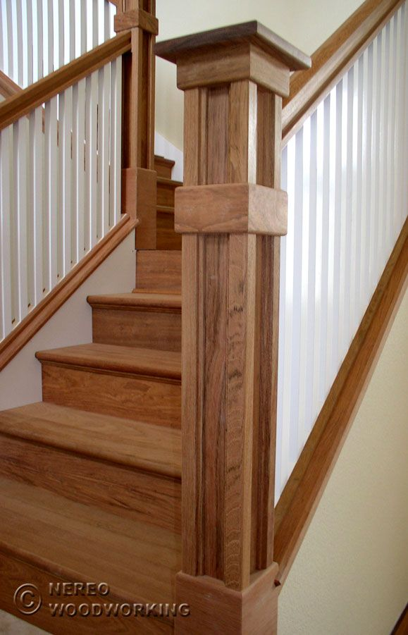 Best Pin By Debb White On Balusters Newel Post Craftsman 400 x 300