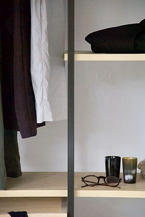 Tulip twins,Tulip twins, COS, wardrobe, closet design, wood, metal, minimal and grey scale. Collaboration http://www.lisamalousmits.nl together with http://jannontwerp.nl