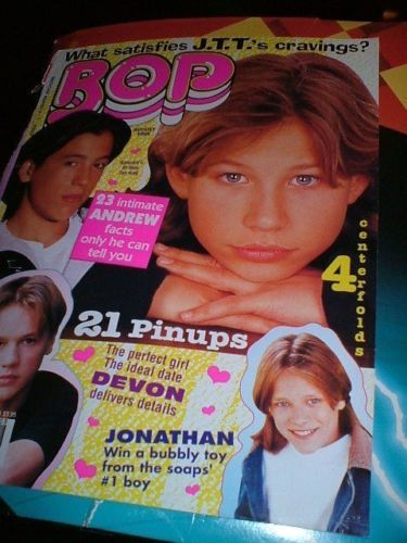 VTG-90-039-s-BOP-1pg-pinup-COVER-ONLY-amp-Devon-Sawa-Jonathan-Taylor-Thomas-GREAT-COND