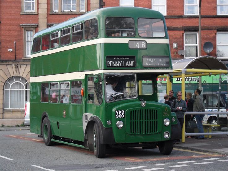 Liverpool Corporation bus A267 (VKB 900), 2009 Merseyside Transport Trust running