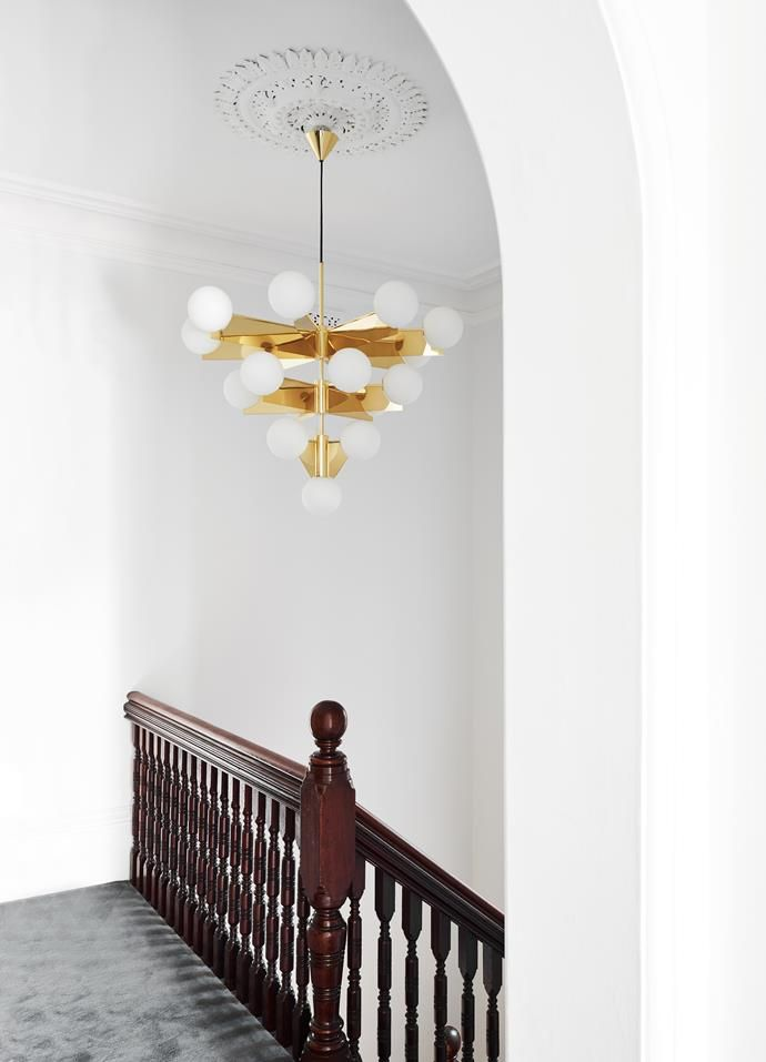 A Victorian Terrace Gets A Contemporary Revamp Victorian Terrace Ceiling Lights Living Room Victorian Chandelier
