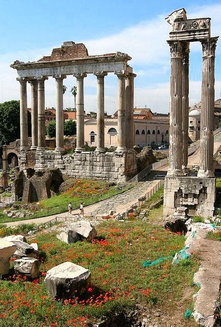 The Roman Forum, Rome, Italy | Incredible Pics