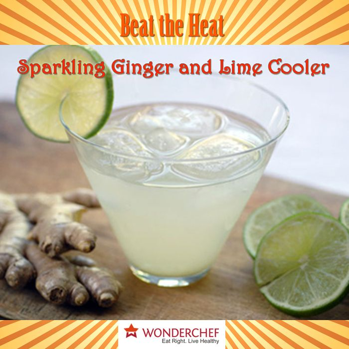 11 best beat the heat this summer images on pinterest drink sparkling ginger and lime cooler beat this summer with this refreshing and healthy drink by forumfinder Images