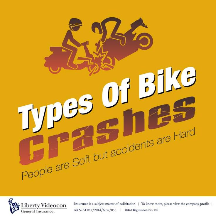 People are soft, but accidents are hard. Wear a helmet, save your nut. Here's a list of different types of bike crashes and the injuries sustained: bit.ly/1zKLGLE #RoadTips
