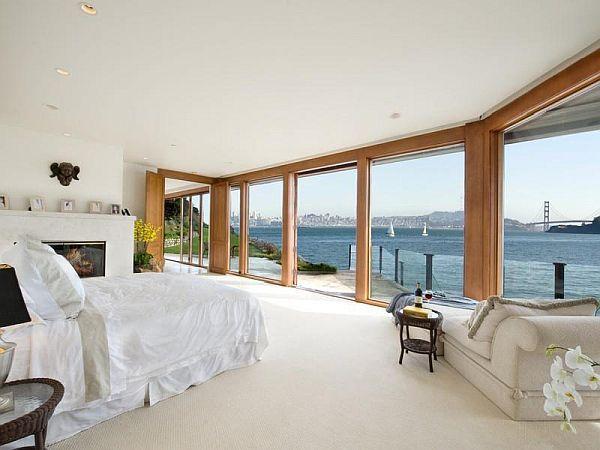 Chambre à coucher - Bedroom - Blanc - White - Moderne - Modern
