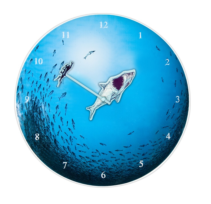 Presenting The Preview Of The Newest Member To The Plush Family   The Jaws  Clock. Designer ClocksModern Wall ...