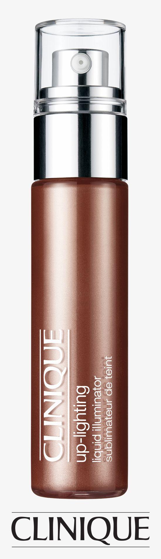 Sheer, lightweight liquid instantly illuminates skin. #Clinique Up-Lighting Liquid Illuminator.