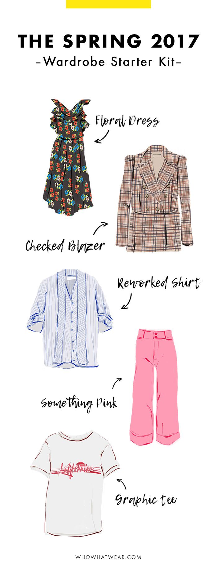 Want to refresh your spring wardrobe? These are the essentials every fashion girl needs.