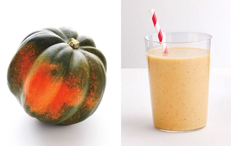 Give your go-to smoothie a delicious fall makeover with this potassium-rich veggie. I did not cook the acorn, I ate this raw. It tasted even better.