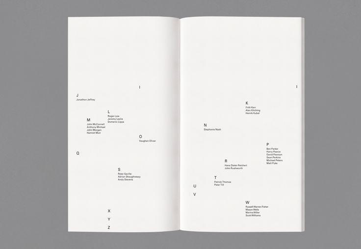 Alliance Graphique Internationale Index