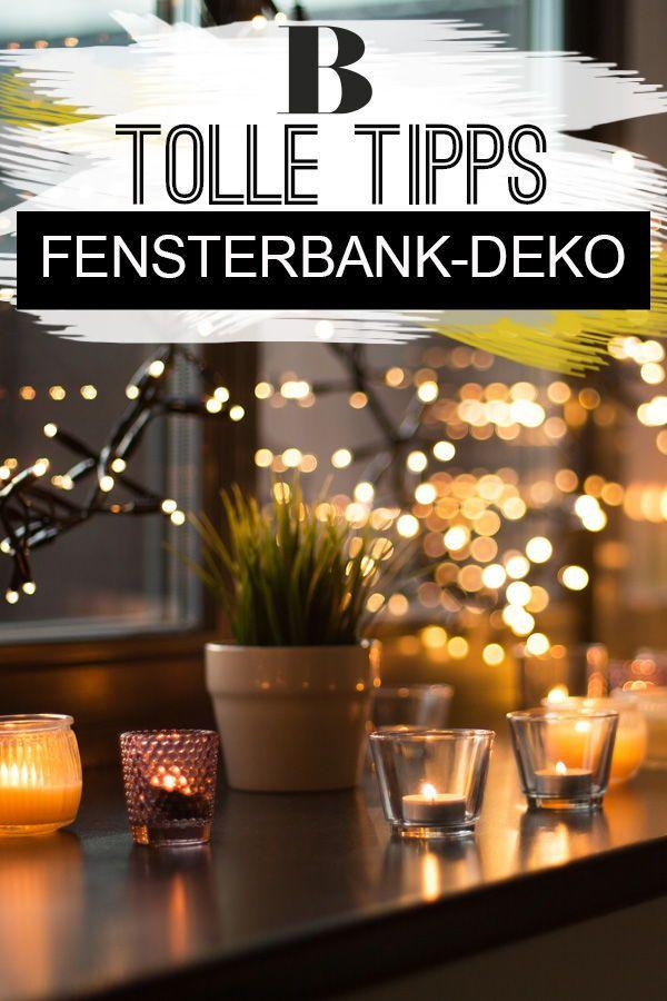 5 Fensterbank-Tipps: So verleihst du ihr deinen persönlichen Twist!