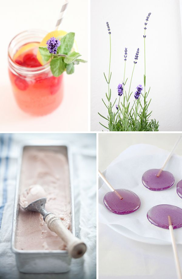 10 Recipes with Lavender // want to use the lavender from my garden <3