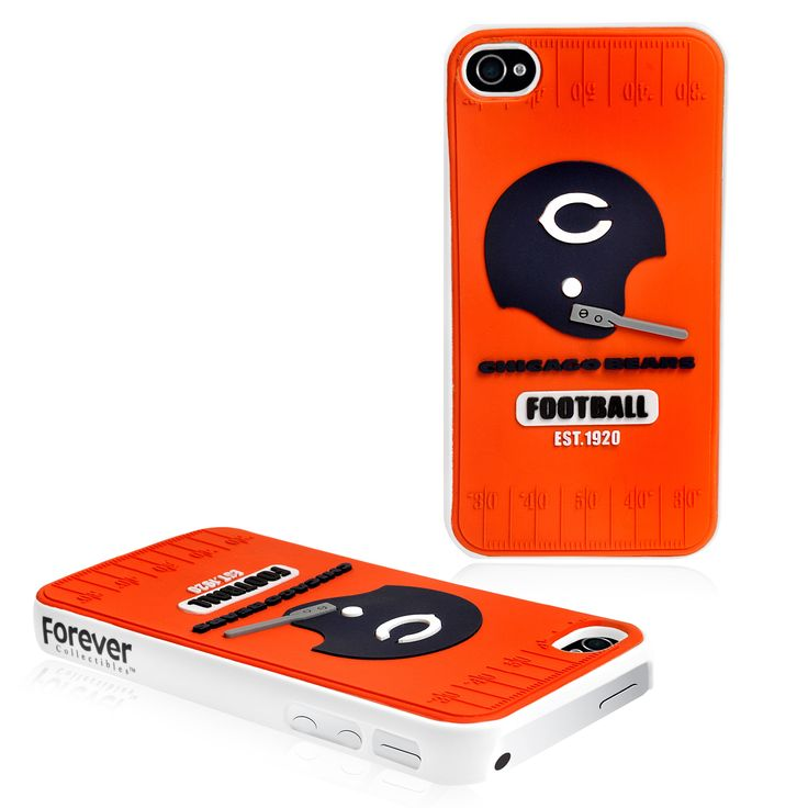 Refurbished Forever Collectibles NFL Chicago Bears iPhone 4/4S Hard Protective Phone Case
