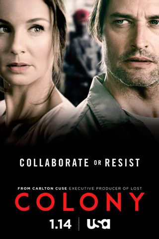 Colony - great show - aliens from outer space take over and the humans are divided!
